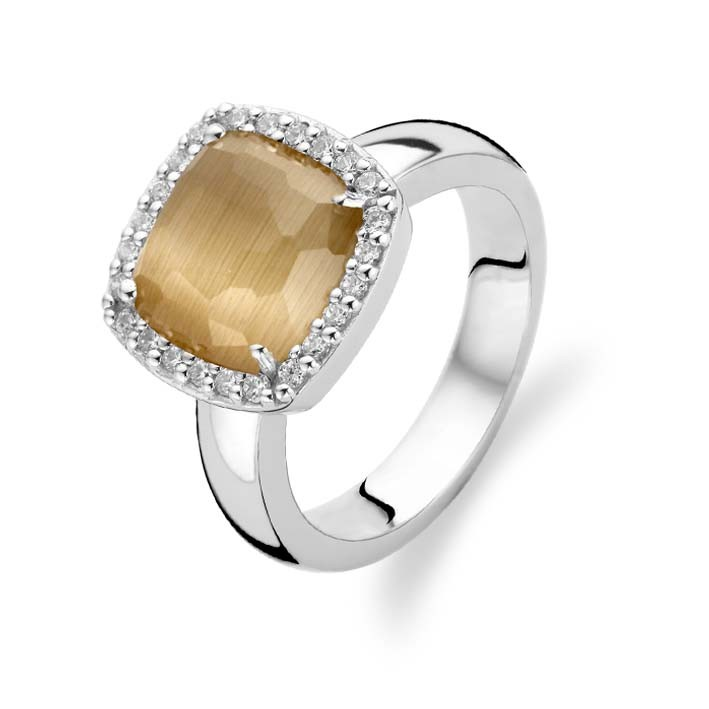 Caramel Cat S Eye Ring Diamontrigue Jewelry Lubbock