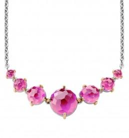 ti-sento-faceted-fuchsia-pink-stone-collar-necklace