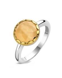 ti-sento-orange-faceted-stone-cocktail-ring