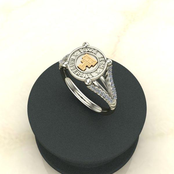 Diamontrigue Rings
