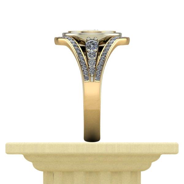 Ttu Graduate School >> Ttu Graduate School Ring Side View Diamontrigue Jewelry Lubbock