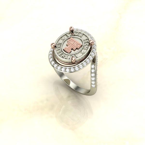 Men S Wedding Rings Diamontrigue Jewelry: Texas Tech Ladies Ring The Journey