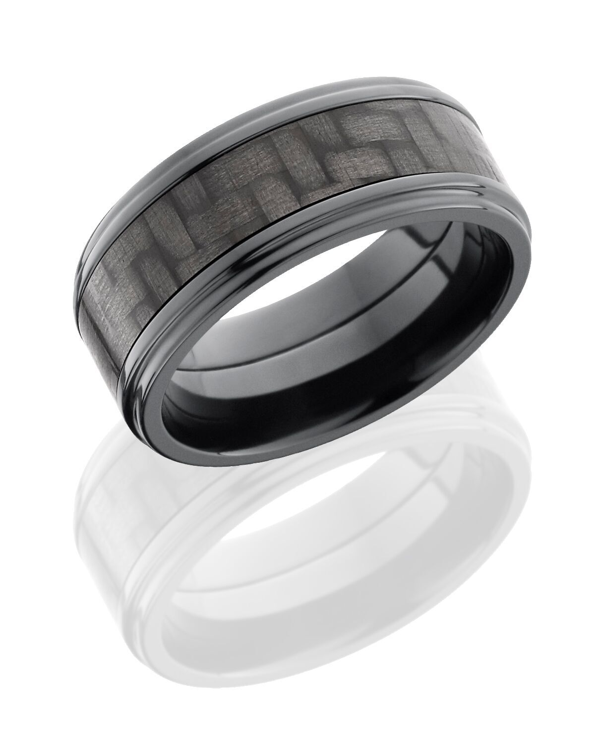 Carbon Fiber Diamontrigue Jewelry: Zirconium & Carbon Fiber - Diamontrigue Jewelry