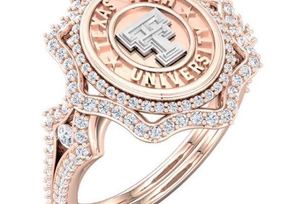 "Texas Tech ""Roselyn"" Ring is the newest addition to our Vintage collection."