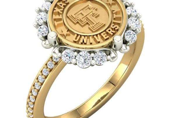 Vintage Inspiration Texas Tech Ring